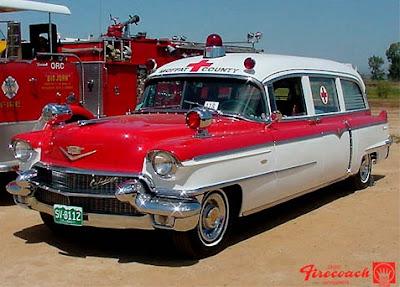 1956 Cadillac-Meteor Ambulance