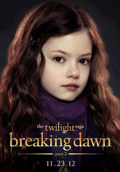 Breaking Dawn Part 2 – Edward and Bella's daughter ...