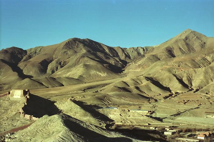 Tibet, Gyantse, fortifications, © L. Gigout, 1990