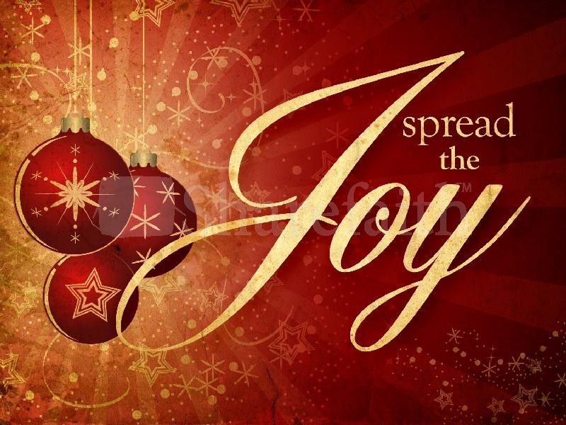 Joy In Giving: Joy Is Found In Sharing And Giving Love