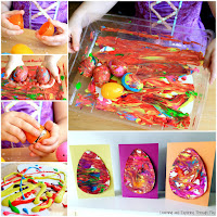Easter Egg Sensory Process Art Cards