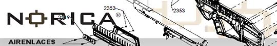 Diagrama carabinas Norica