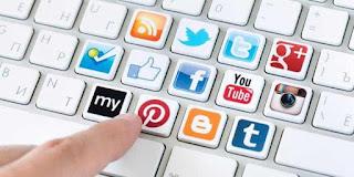 Ayo ngeblog daripada Update di Sosial Media