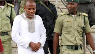 Fed govt asks court to revoke Nnamdi Kanu's bail, send him back to prison
