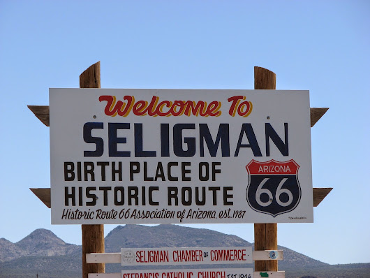 Seligman....on Route 66