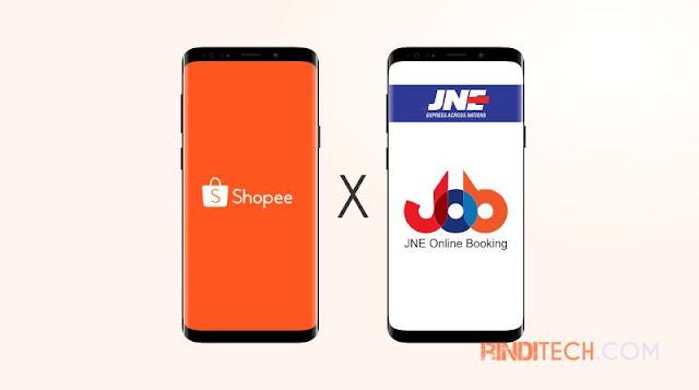 Cara Mengirim Pesanan Shopee via JNE Online Booking