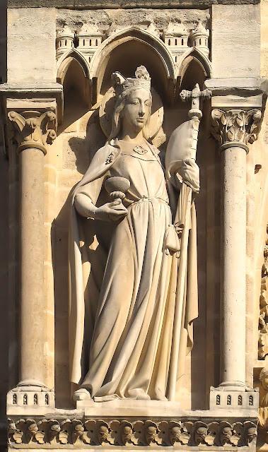 A Igreja triunfa sobre a Sinagoga de Satanás, Notre Dame de Paris