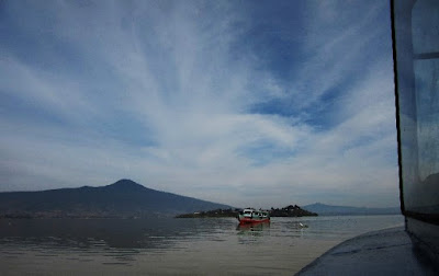 Pacanda Island at Lake Patzcuaro in Michoacán