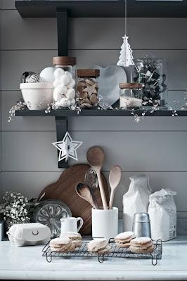 decorar cocina de Navidad