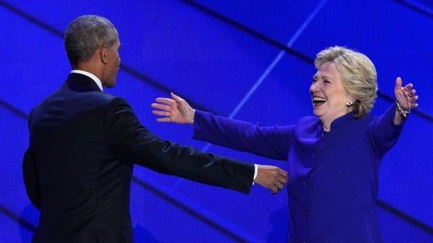 Obama: 'We'll carry Clinton to victory'