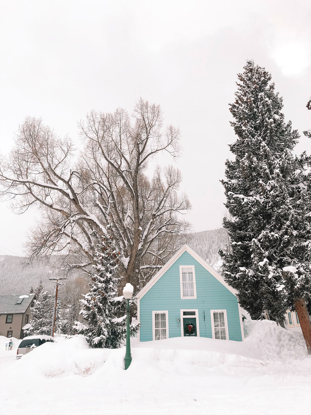 Crested Butte, Colorado has such winter charm