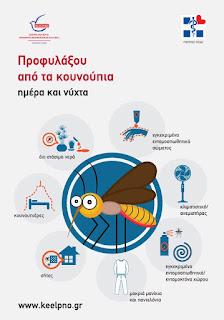 Περιστατικό λοίμωξης από τον ιό του Δυτικού Νείλου – Δράσεις πρόληψης και απόκρισης