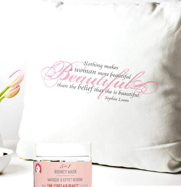 Popsugar Must Have August Birthday Box And First aid beauty 5 in 1 mask By  Barbie Beauty Bits
