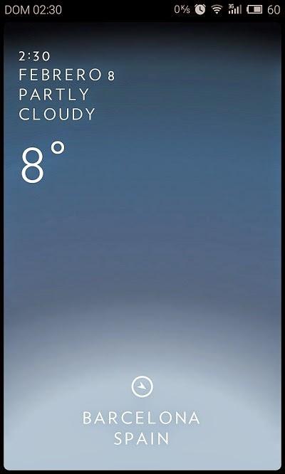 YoAndroideo.com: Solar : Weather, la app más sencilla para conocer el clima