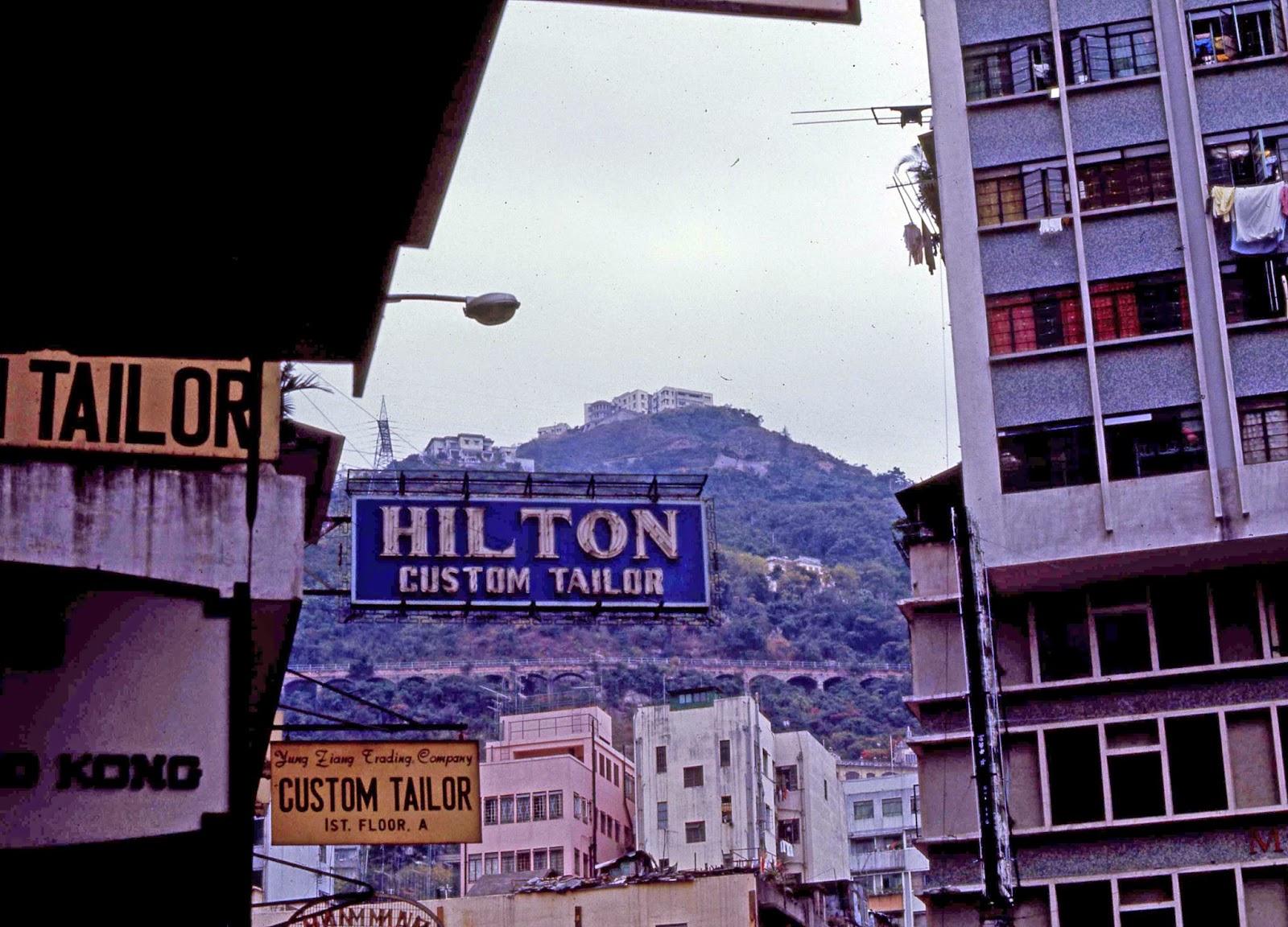 Hilton Custom Taylor Hong Kong - Hong Kong 1969