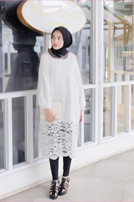 hijab dengan legging hijab dan legging