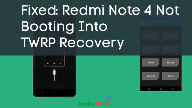 redmi note 4 recovery mode issue