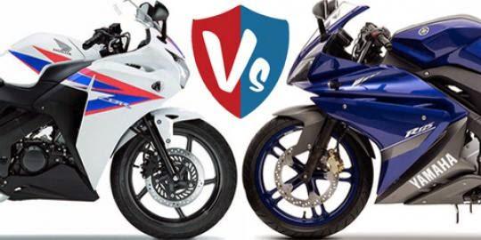 Yamaha YZF R125 vs Honda CBR 125 R