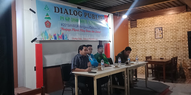 Firdaus Muhammad Imbau GP Ansor Hindari Politik Praktis