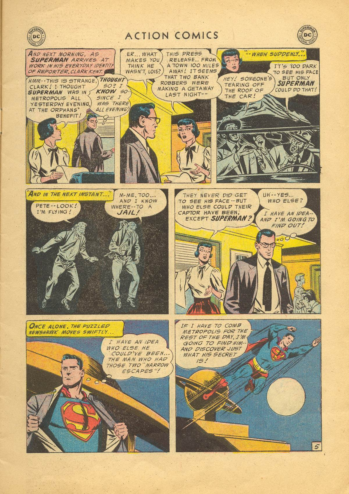 Read online Action Comics (1938) comic -  Issue #209 - 7