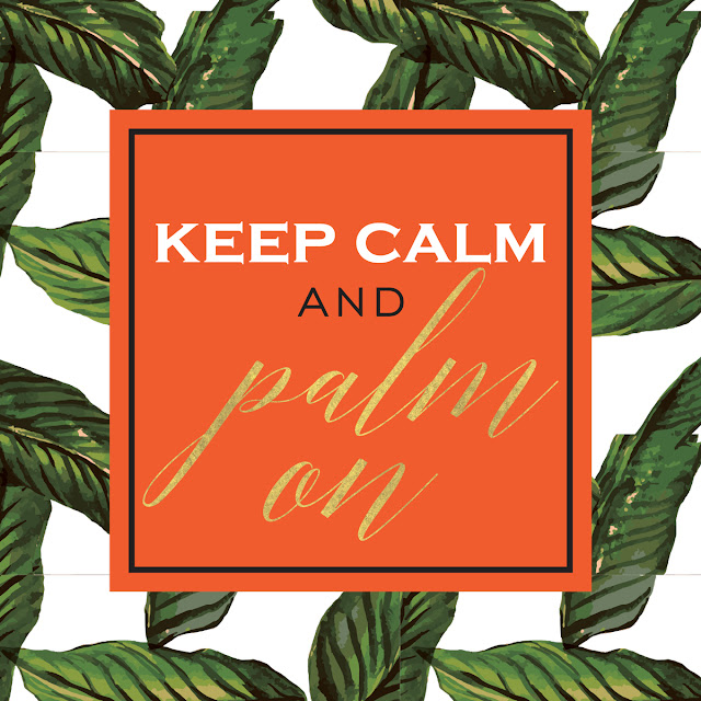 Print of the Summer: Palm Leaves!