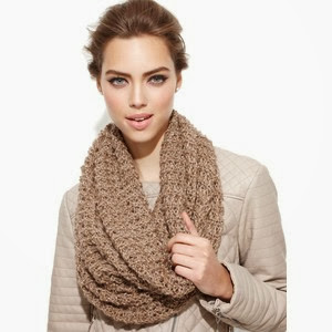 "SNOOD"" It In Style-A Circular Scarf For Winters"