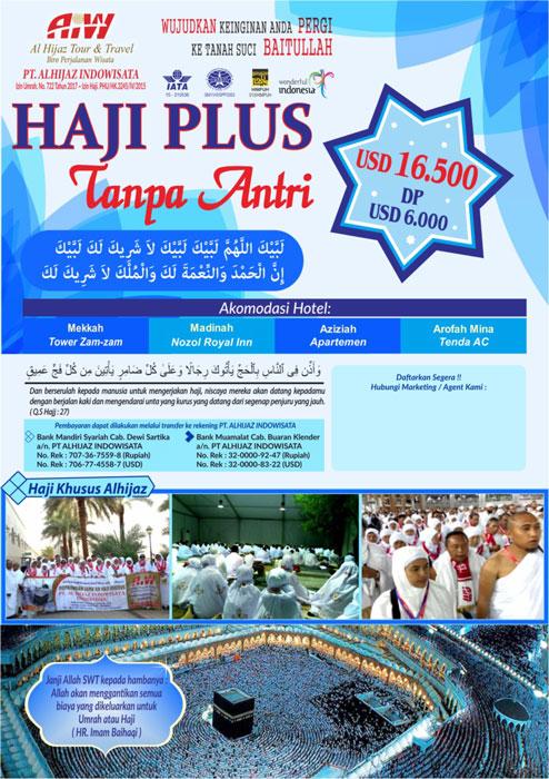 Biaya Paket Haji ONH Plus 2018 Kuota Depag $ 9.500 Lihat !