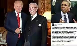 Donald Trump's Butler Of 30 Years Calls For Obama To Be Murdered In Extraordinary Attack