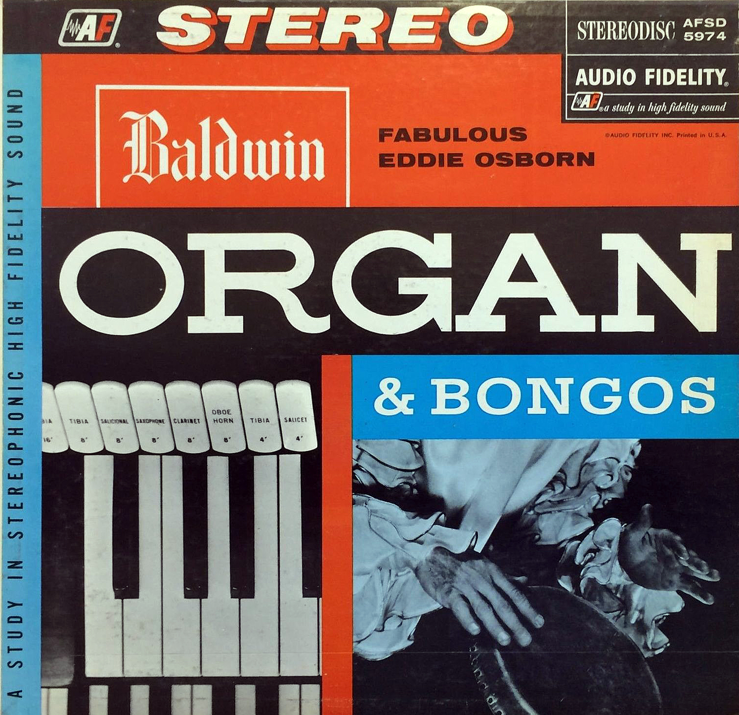 Eddie Osborn - Baldwin Organ and Bongos