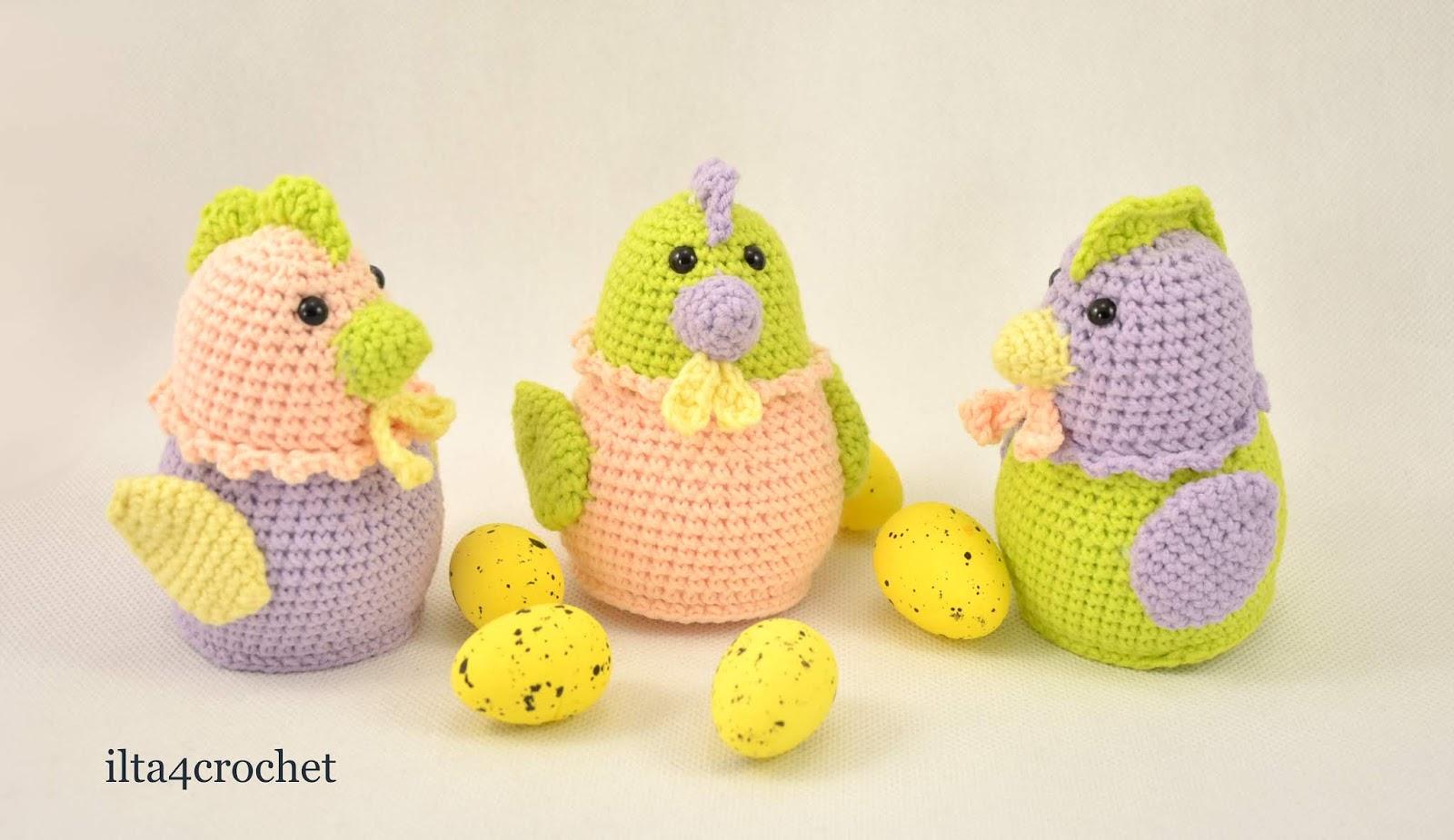 Easter Amigurumi | Szydełko i Wielkanoc | 925x1600