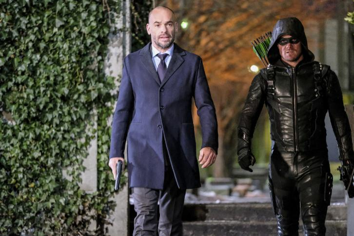 Arrow - Episode 5.14 - The Sin-Eater - Promos, 2 Sneak Peeks, Inside The Episode, Promotional Photos, Interview & Press Release