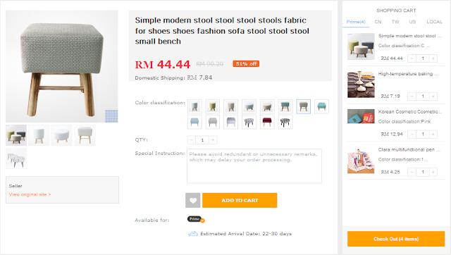 Beli berdozen barang dari China dengan kos pos RM8.80 SAHAJA!