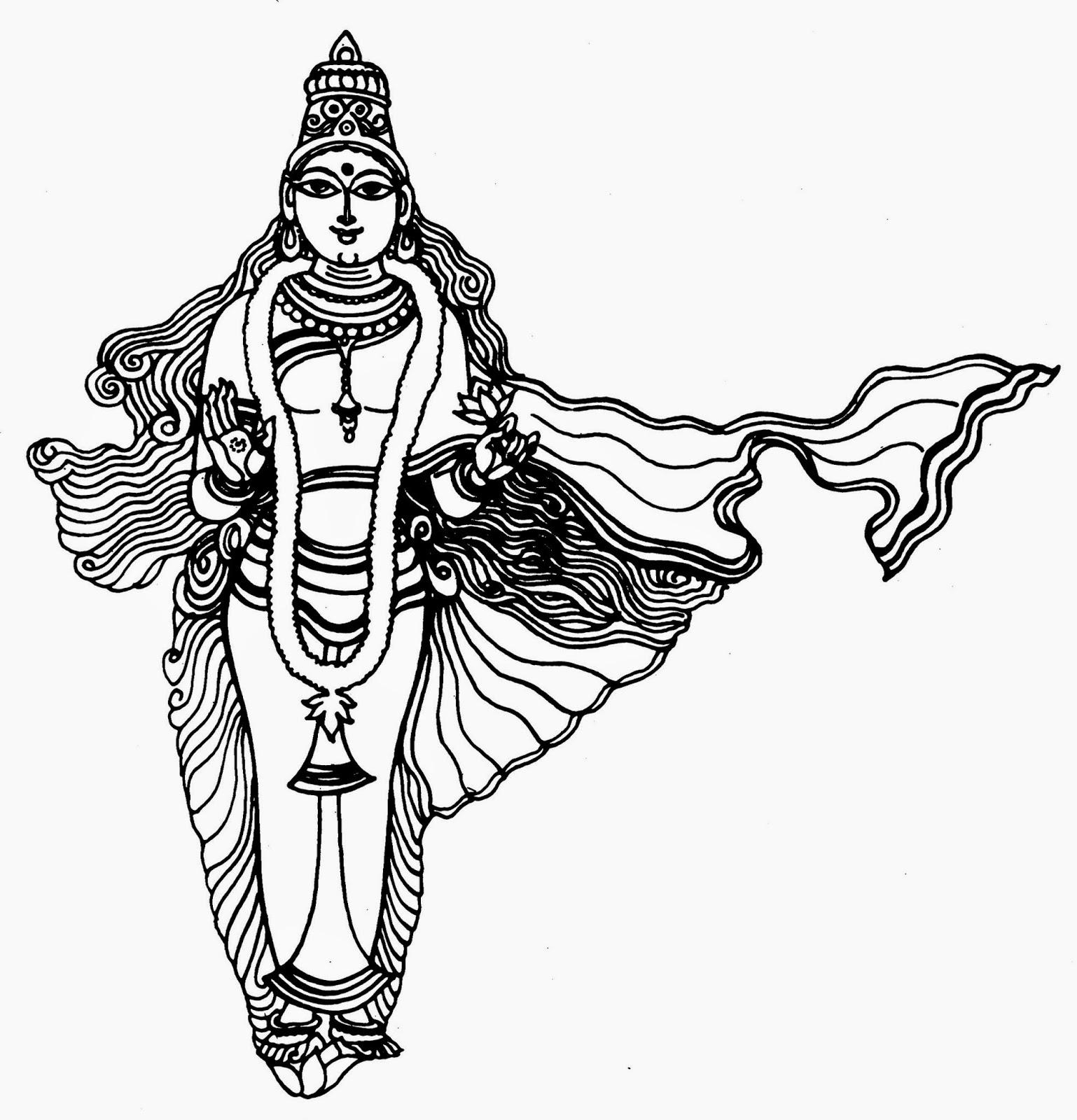 Gods Leaders Images Drawings Telugu Vaibhavam Bharatmata