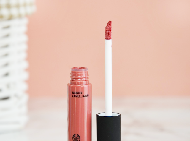 The Body Shop x House of Holland Matte Lip Liquids