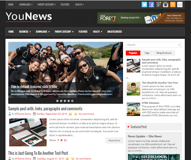 YouNews a free blogger template                                                                                                                                                                                                                                                                                                                                                                  http://blogger-templatees.blogspot.com/