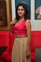 Akshita super cute Pink Choli at south indian thalis and filmy breakfast in Filmy Junction inaguration by Gopichand ~  Exclusive 057.JPG