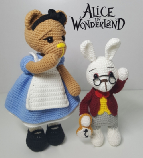 Alice in Wonderland - Free Pattern