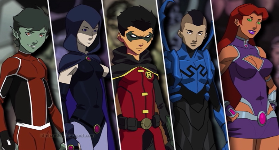 Robin Dick X Raven Or Robin Damian X Raven Teen -2096