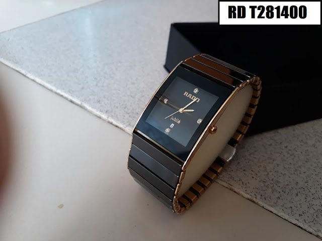 Đồng hồ nam mặt chữ nhật Rado RD T281400