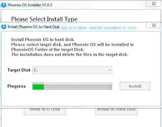 Cara Termudah Instal Phoenix Os di Komputer Atau Laptop
