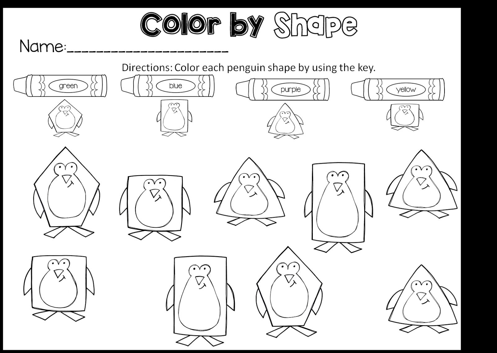 Polar Animals Preschool Pack
