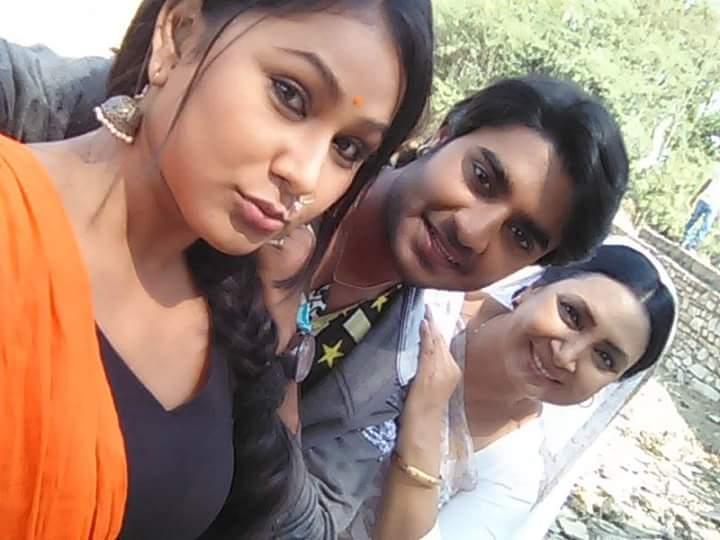 ON Set of Deewane  Bhojpuri Film Shooting photo