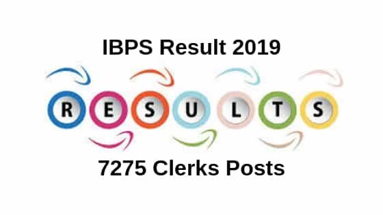 IBPS Result 2019,ibps clerk result 2018,ibps clerk result,ibps result,ibps clerk 2018,ibps clerk 2018 result,ibps clerk prelims result 2018,ibps result 2019