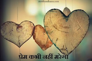 प्रेम कभी नहीं मरेगा