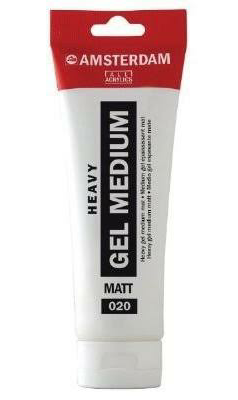 heavy gell medium amsterdam 250 ml