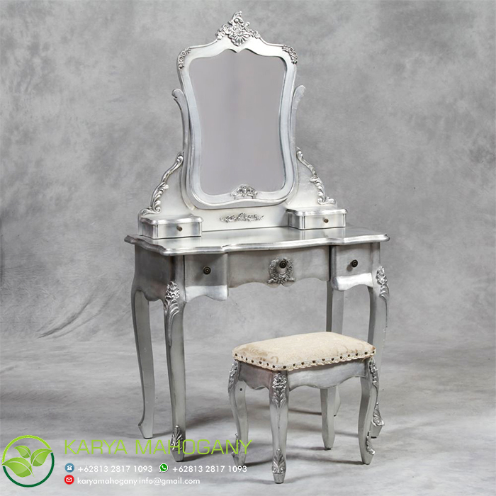 Meja Rias Model Klasik | Meja Rias Silver