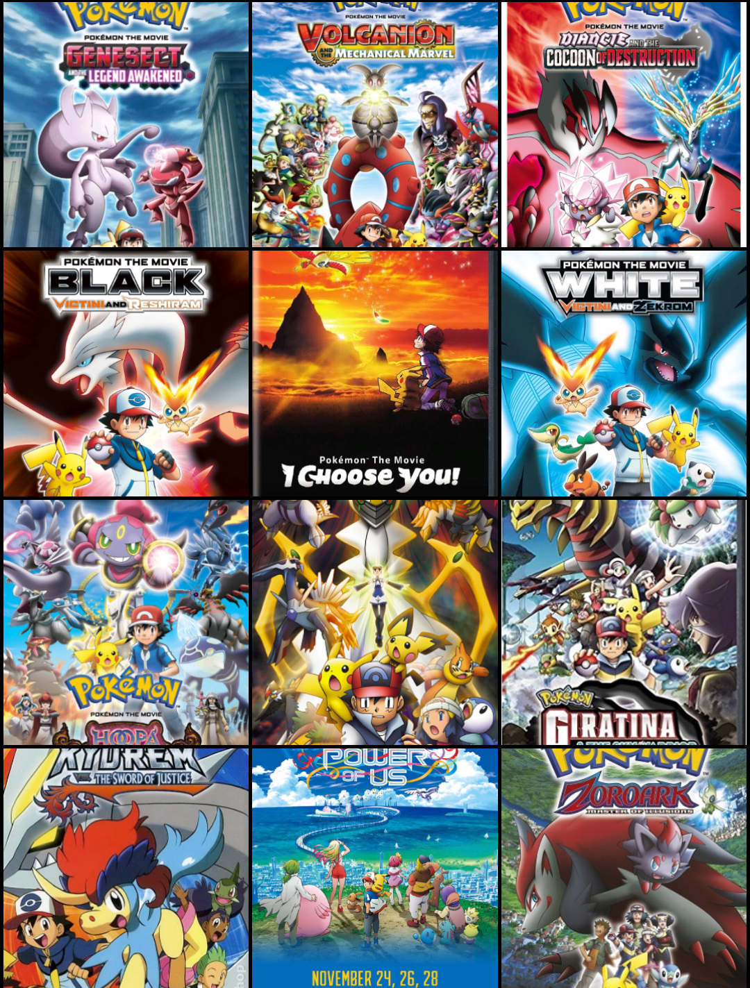 Pokemon Movies Collection Pokemon All Movies In One Place