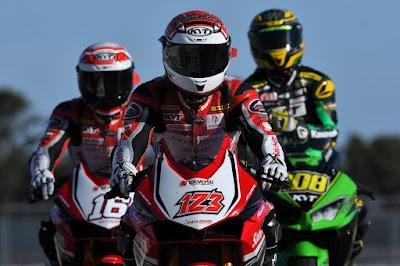 Para pembalap AHRT siap berjuang lagi di Suzuka
