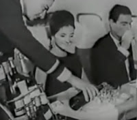 Propaganda da Varig nos anos 60 apresentando seu voo internacional para Miami