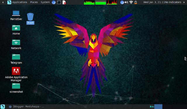 Linux distro Parrot Sec